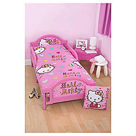 hello kitty bed in a bag buy hello kitty toddler bed in a bag from our duvet covers range tesco com