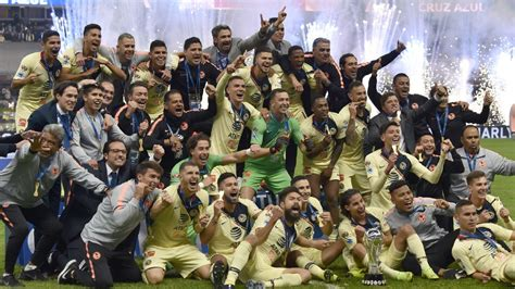 club americas record liga mx title cruz azuls