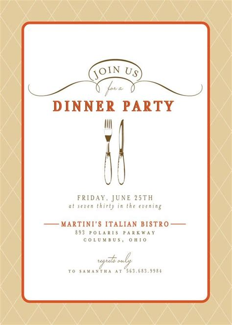 design dinner invitation card dinner party invitations theruntime com
