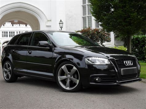 audi a3 sportback special edition used audi a3 sportback tdi s line special edition black