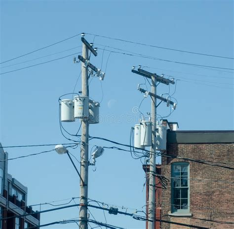 utility pole light fixtures utility pole stock image image of supply structure