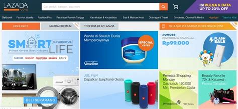 membuat toko online lazada 10 situs belanja online terbaik dan terpercaya di