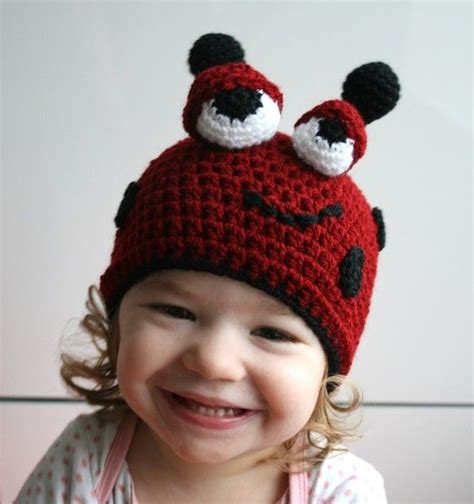 hat bousa ya bet 36 best crochet lady bug beanies and things images on