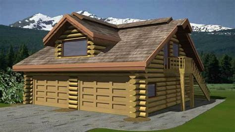 Log Home Floor Plans With Garage by Log Cabin In The Woods Log Cabin Floor Plans With Garage