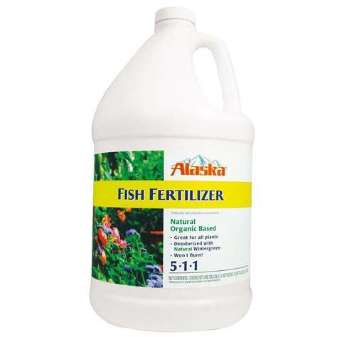 fruit tree fertilizer lowes alaska 1 gal 5 1 1 fish fertilizer 100099249 the home depot
