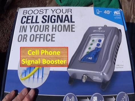 cell phone signal booster now on the homestead how to