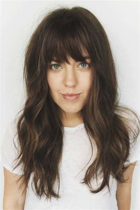 Hairstyles Hair With Bangs by Bangs With Hairdos You Should See Hairstyles