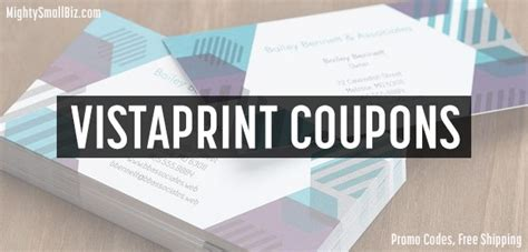 Vistaprint 1000 Business Cards Promo Code