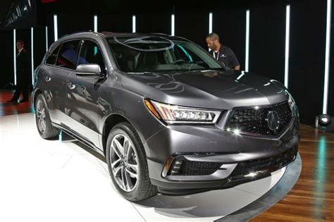 2020 Acura Mdx Detroit Auto Show by Acura Mdx 2020 Redesign Acura