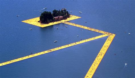 floating piers the floating piers of northern italy