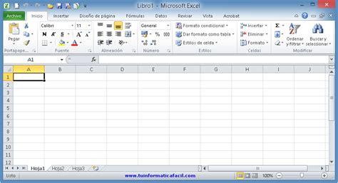 tutorial excel 2010 gratis español descargar gratis microsoft excel 2010 tu inform 225 tica f 225 cil