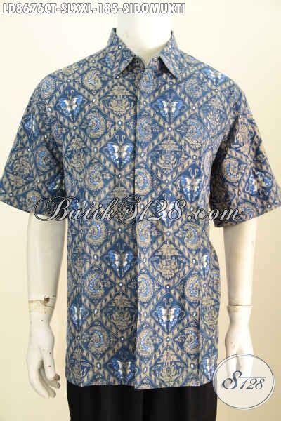 Hem Cap Tulis jual batik hem cap tulis klasik motif sidomukti pakaian