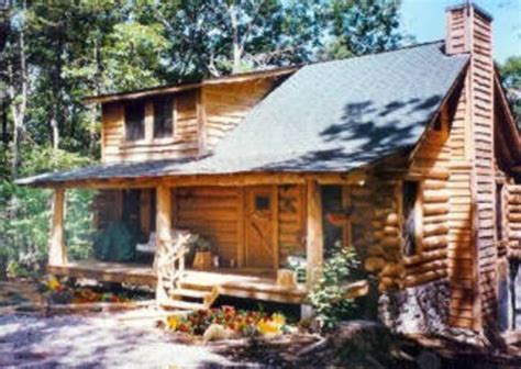 Handmade Log Cabin - handmade log cabin atop small mountain vrbo