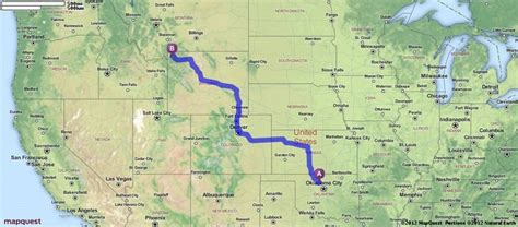 mapquest oregon il driving directions from enid oklahoma to yellowstone