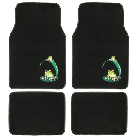 Design Floor Mats For Cars by Design Car Floor Mats Green Frog 4 Pc Set For Custom Auto