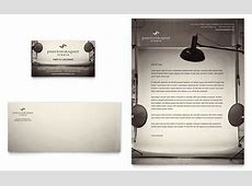 Photography Studio Business Card & Letterhead Template Design Holiday Gift Guide Microsoft