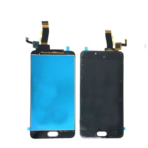 Meizu Pro 6 Lcd Display And Touch Screen With Frame meizu m5 lcd display touch screen digitizer assembly replacement
