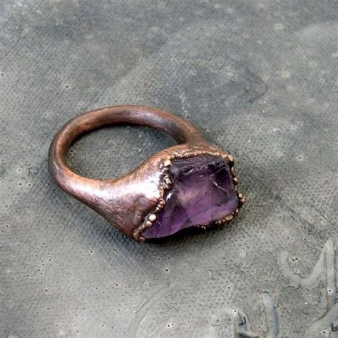 Dparis Violet Ring 17 best ideas about copper rings on rings
