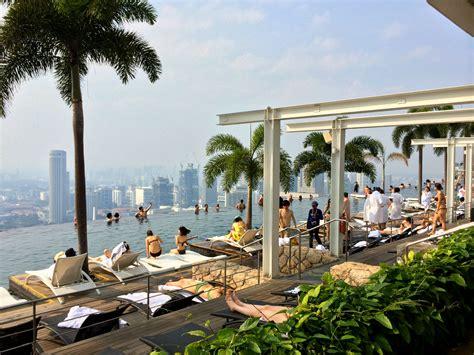 marina bay sands infinity pool singapore hotel review marina bay sands singapore