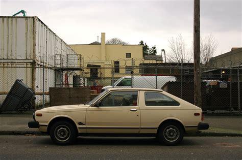 nissan datsun hatchback old parked cars 1982 datsun 310 gx