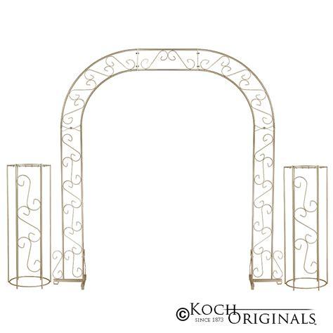 Wedding Arch Columns by Wedding Arch W Two Columns Extender 92 Gold Leaf