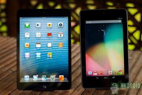 asus nexus 7 vs mini apple mini vs nexus 7