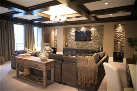 cozy home interior is both eco and glam sectional den decorating ideas contemporary home cozy