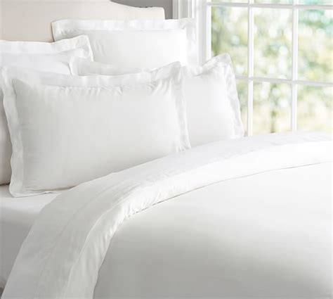 tencel bettdecke tencel 174 duvet cover sham pottery barn
