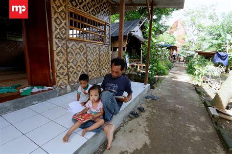 Cacing Tangerang membangun peradaban kung cacing di bantaran sungai