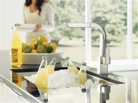 Moen 90 Degree Kitchen Faucet by Moen 90 Degree Classic Stainless One Handle High Arc