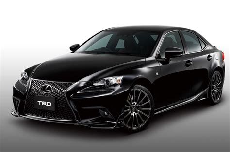 sporty lexus coupe trd offers 2014 lexus is f sport upgrade in japan