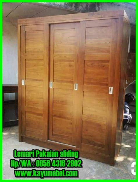 Lemari Kayu Sliding produsen lemari sliding minimalis lemari baju dari kayu jati
