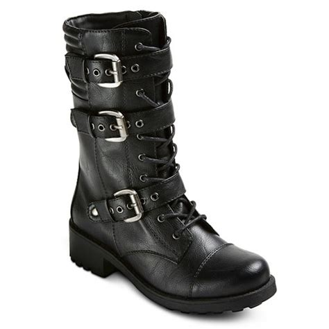 s valerie combat boots mossimo supply co ebay