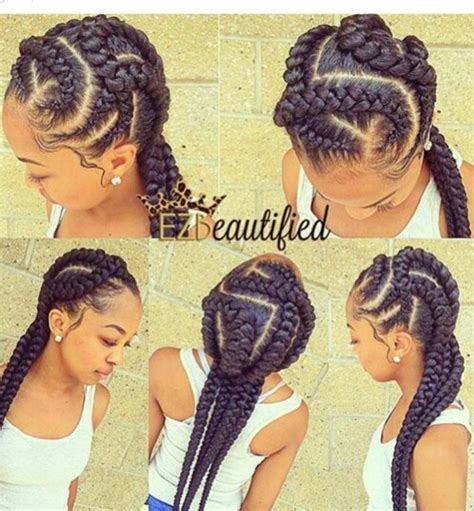 quick and easy braids for ethnic hair pretty hairstyles for quick braided hairstyles for black