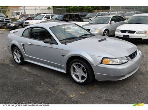gt mustang 2000 2000 ford mustang gt coupe in silver metallic 284135
