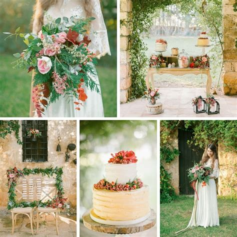 inspiration for a rustic vintage style wedding rustic vintage boho autumn wedding inspiration chic vintage