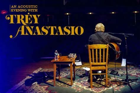 u2 fan club presale code trey anastasio sets 2018 acoustic tour dates ticket
