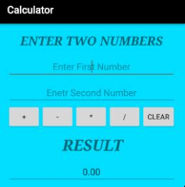android tutorial make android calculator app how to how to create calculator app in android studio step by