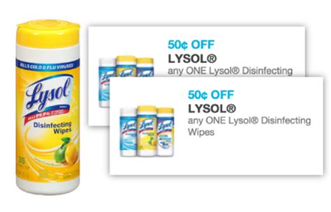Lysol Coupons Printable 2017