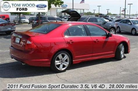 2011 Ford Fusion Sport by Sell Used 2011 Ford Fusion Sport In 3130 E 96th St