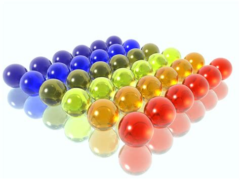 colored balls wallpapers glass balls desktop backgrounds