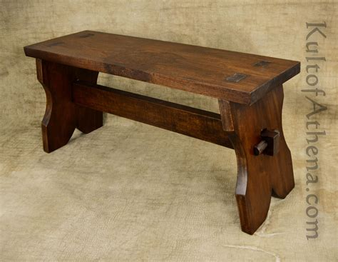 medieval bench f0002 medieval wooden bench 107 95