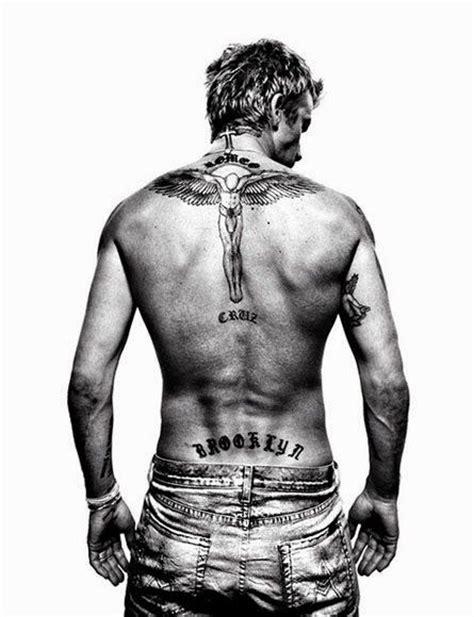 beckham tattoo back meaning best 25 david beckham tattoos ideas on pinterest david