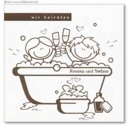 badewanne comic loriot einladungskarten