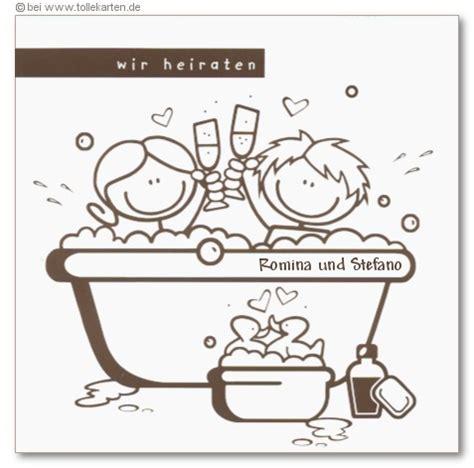 Badewanne Comic by Loriot Einladungskarten