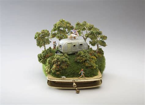 Miniature by Miniature Landscapes Sculpted On Household Objects By