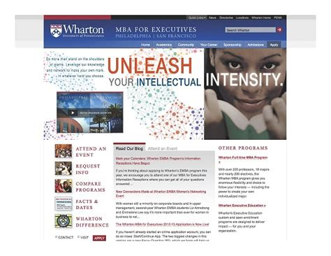 Wharton Mba Enabling Technologies Course Materials by Wharton Executive Mba Program Unleash Recruitment