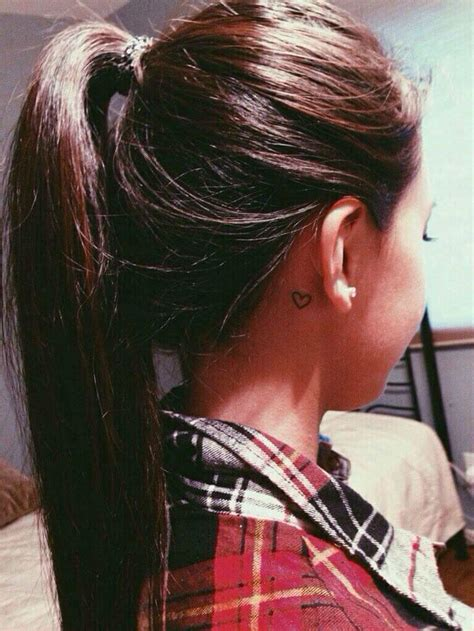 cute behind the ear tattoos 31 the ear tattoos that will make you want to get inked