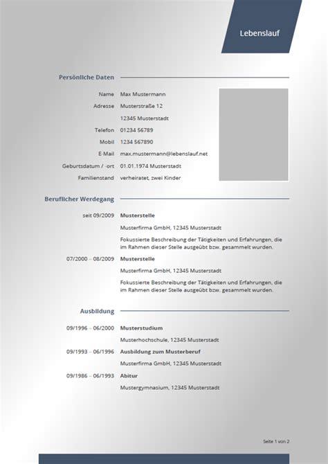 Kostenlose Vorlage Initiativbewerbung initiativbewerbung vorlage 2018 tabellarischer lebenslauf