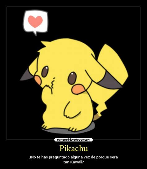 imagenes kawaiis de picachu pikachu desmotivaciones